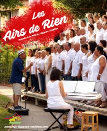 La chorale Les Airs de Rien en concert >> 17 Décembre