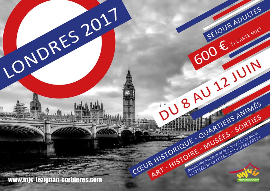 Du 8 au 12 Juin >> Séjour à Londres