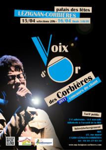 Ce WE >> la Voix d'Or des Corbières 2017