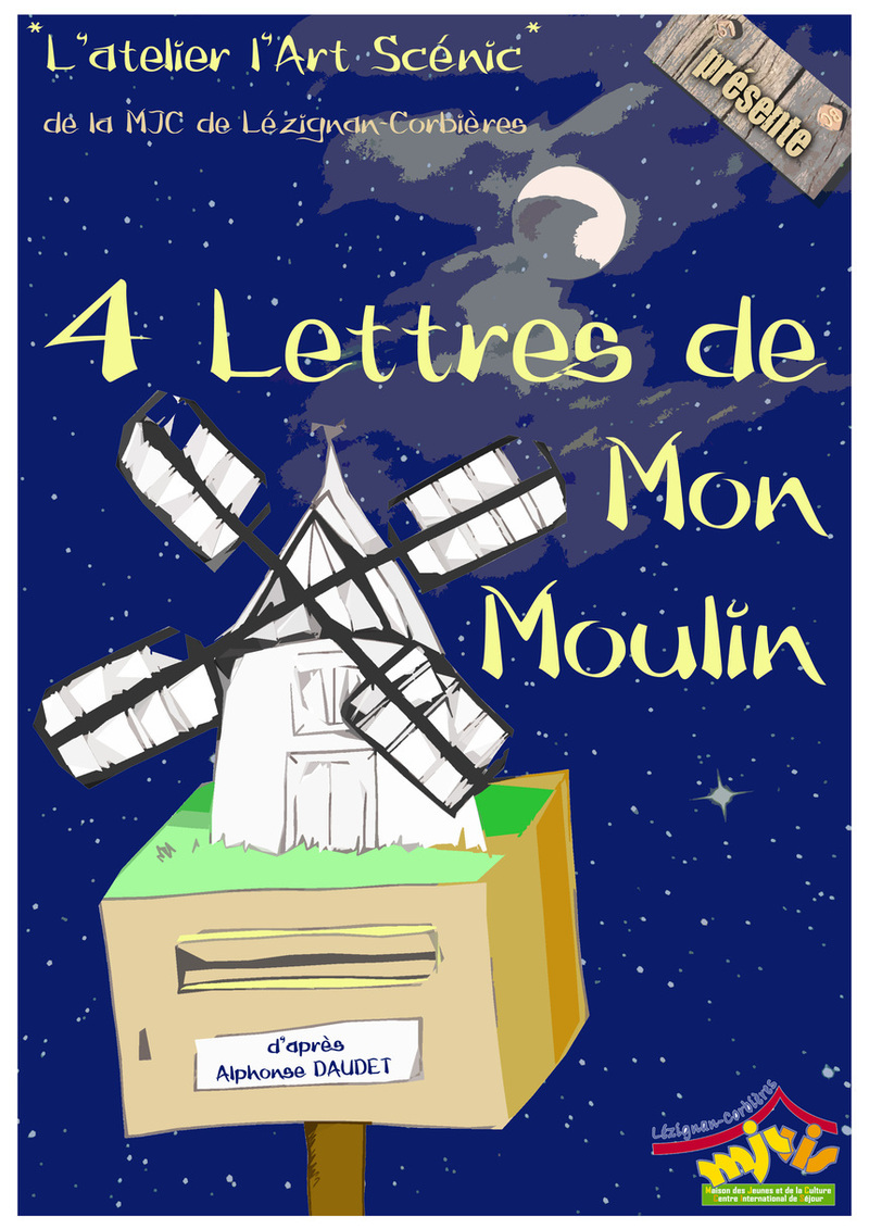 Un tour au moulin .... de Daudet
