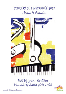Auditions de fin d'année du club Piano >> le 12 Juillet à 18h !