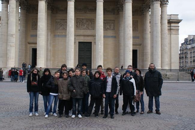 Les lézignanais au Panthéon