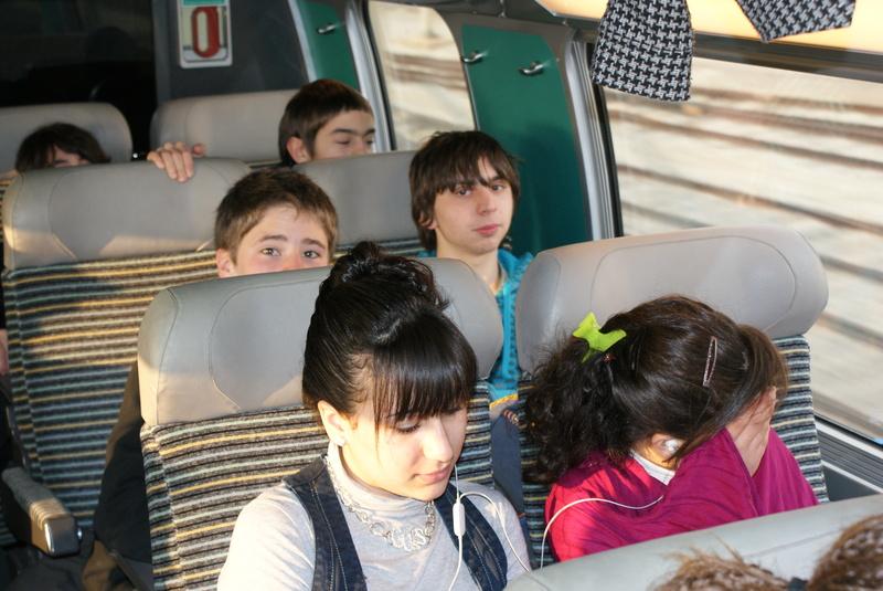 Voyage en TGV