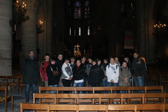 Visite de Notre Dame de Paris