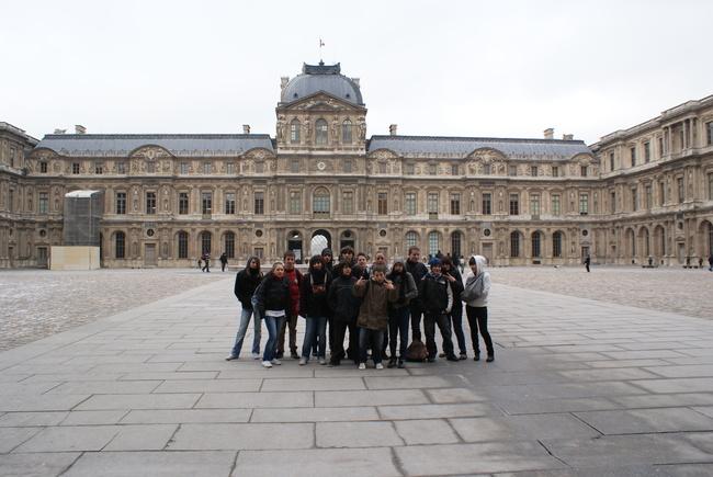 Visite du Louvre