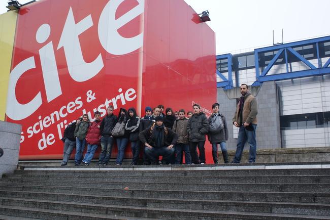 Visite de la Cité des Sciences et de l'Industrie à la Vilette