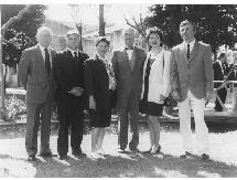 De gauche à droite : Mr SANS Robert - Mr SALETTE Jean-Pierre - Mme GÉA Dominique - Mr YCHÉ Jean - Mme VALETTE Claire - Mr BRIOLE Eric