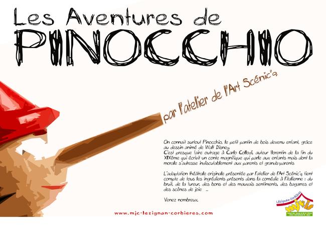 Les aventures de PINOCCHIO à Fabrezan