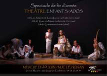 THEATRE >> MERCREDI 20 JUIN spectacle de fin d'année