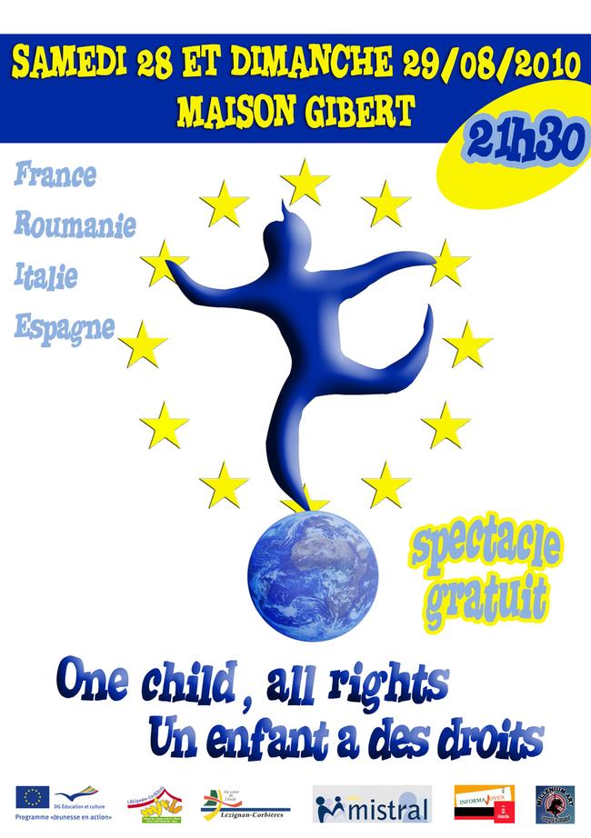 """Spectacle gratuit """"Un enfant a des droits !"""""""