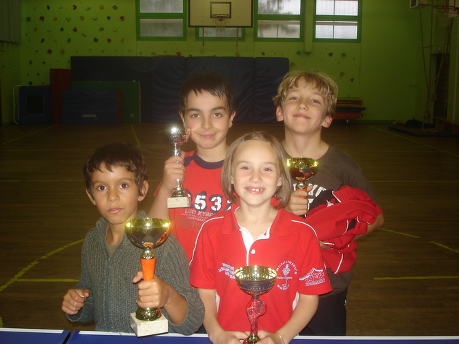 Encore des bons résultats pour le club de Tennis de Table