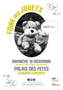 Dimanche 18 Novembre >> Foire aux jouets