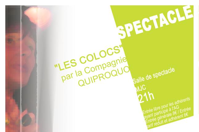"""Spectacle """"Les Colocs"""""""