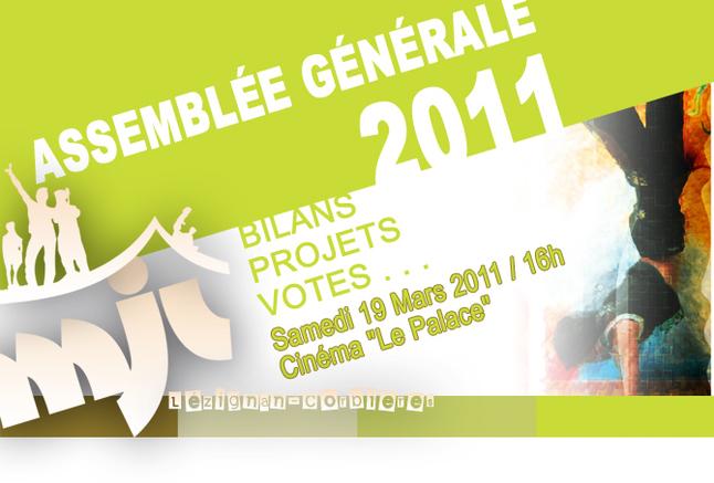L'ASSEMBLEE GENERALE 2011