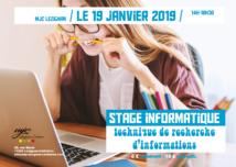 Samedi 19 janvier >> INFORMATIQUE : technique de recherche d'informations