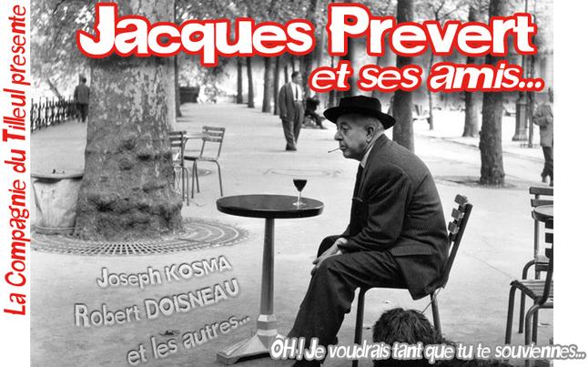 """Cabaret """"Prévert et ses amis..."""""""