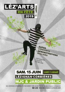Léz'Arts en Fête 2019 >> le 15 juin 2019