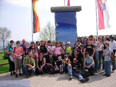 Un morceau du mur de Berlin