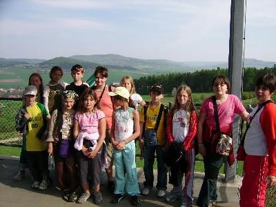 Sur le mirador du Camp Américain à l'Ouest