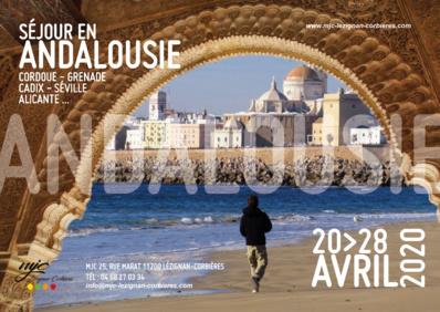 Séjour en Andalousie COMPLET >> du 20 au 28 avril 2020