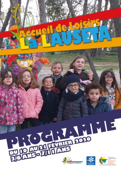 Accueil de Loisirs La Lauseta >> programme vacances de février 2020