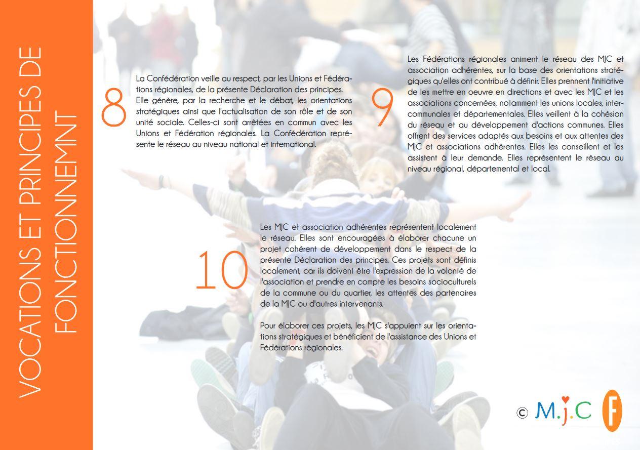 La charte nationale des MJC