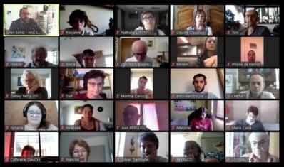 Réunion d'équipe MJC du 04/05/20 par visioconférence