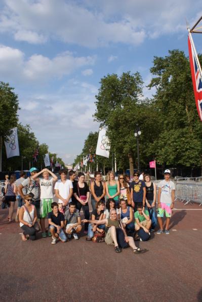 LONDON 2012 > L'arrivée à LONDRES