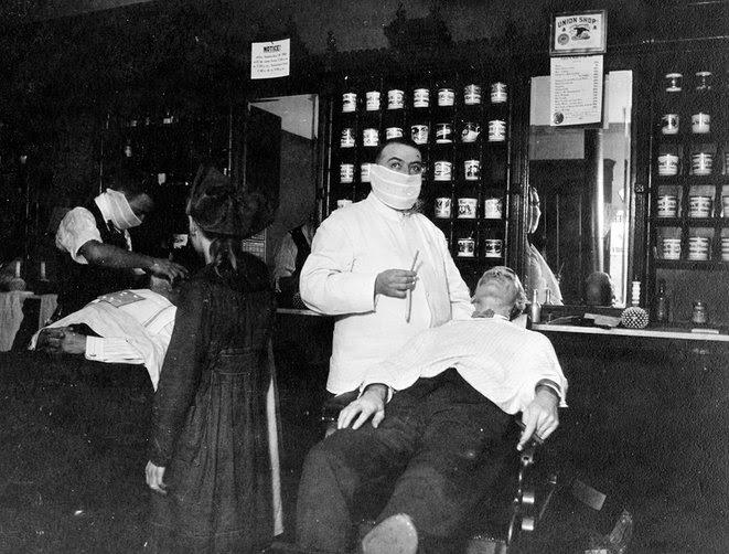 9.  Cincinnati, Ohio :Un barbier dont l'activité avait été autorisée pendant la quarantaine.