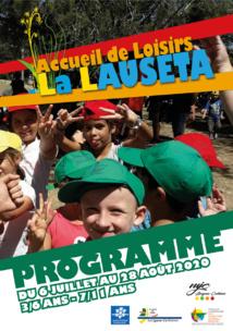 Accueil de Loisirs La Lauseta >> programme vacances d'été 2020