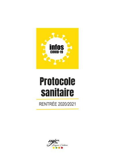 Protocole sanitaire pour la reprise des activités