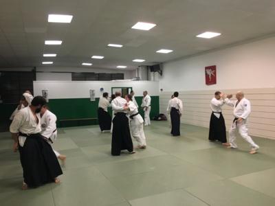 Aïkido, les cours reprennent aprés les vacances