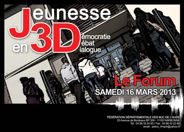Jeunesse en 3D : le Forum