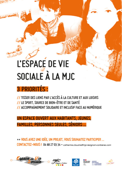 La MJC, Espace de Vie Sociale