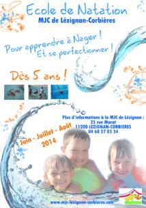 NATATION >> École de nage estivale