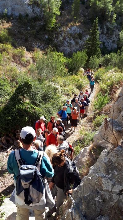 Reprise de la randonnée pédestre le mardi 1er juin