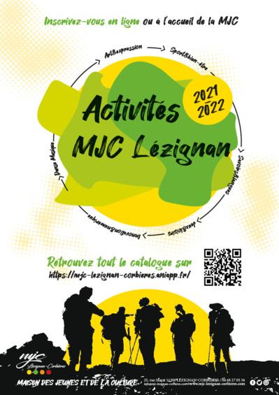 Consultez le catalogue des activités 2021/22