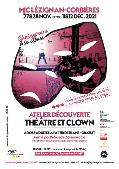 Découvrez le théâtre et le clown, REPORT