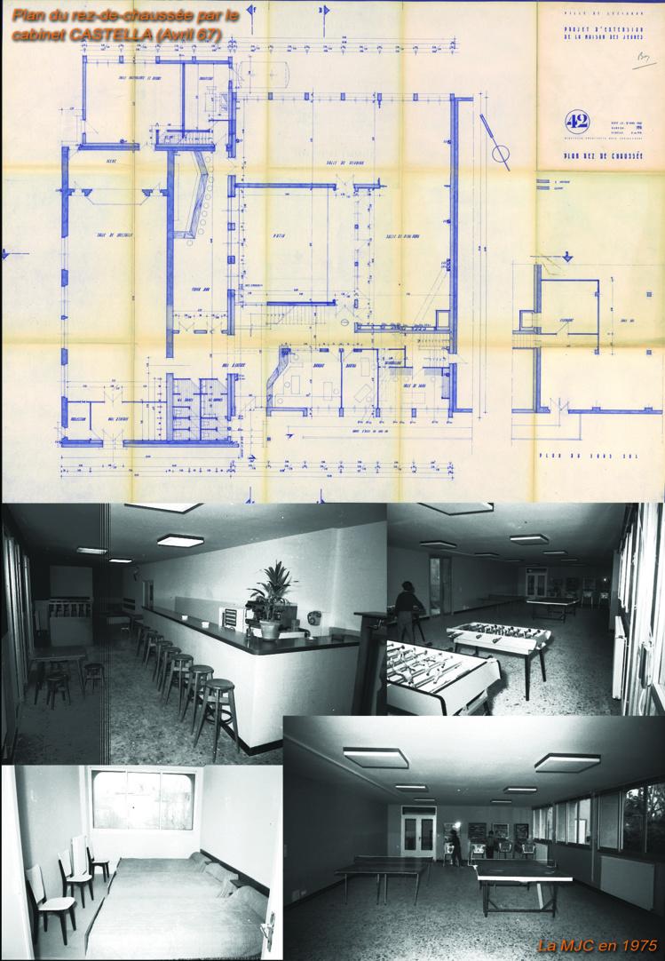 Historique de l'évolution des bâtiments