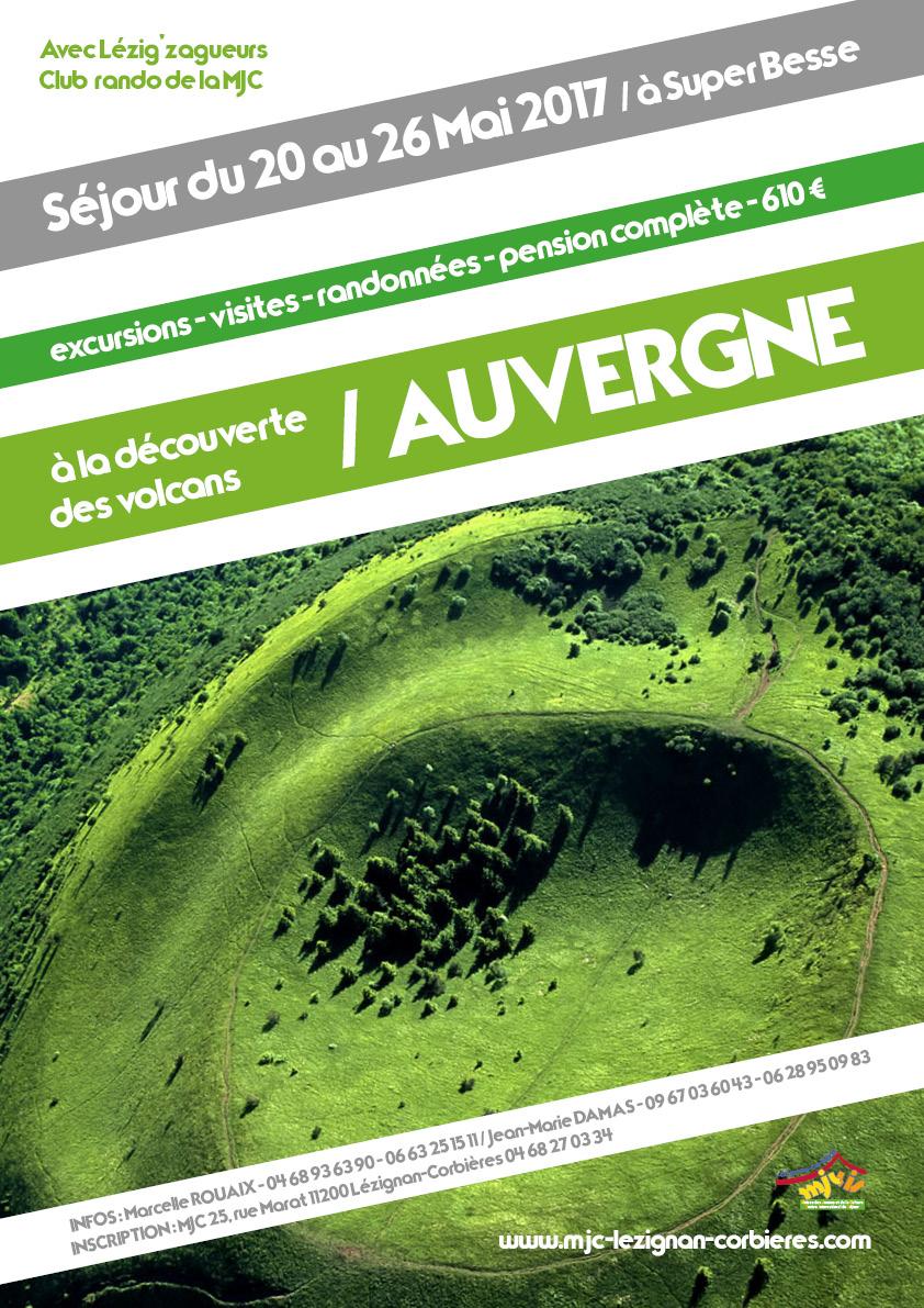 Du 20 au 26 Mai 2017 >> Séjour rando en Auvergne