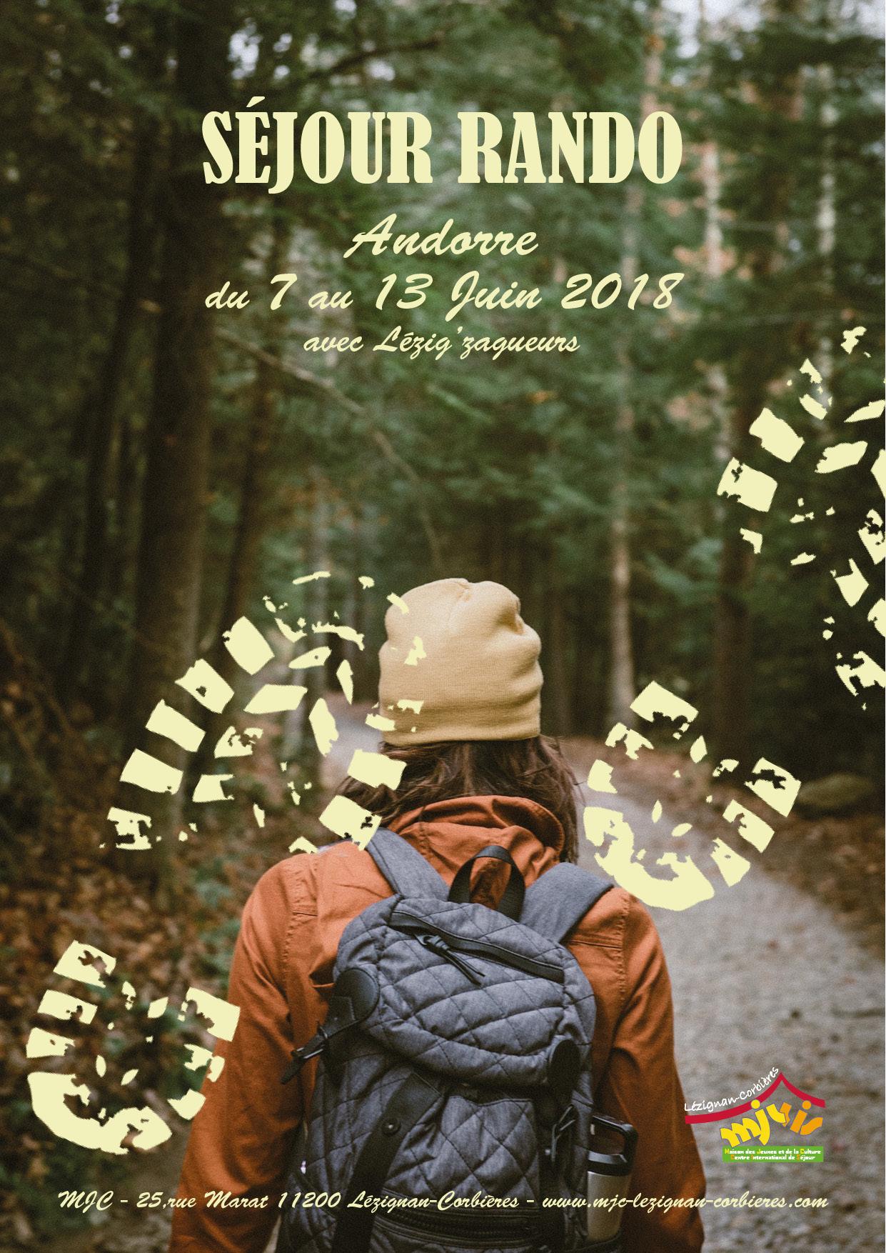 Séjour rando en Andorre >> du 7 au 13 Juin 2018