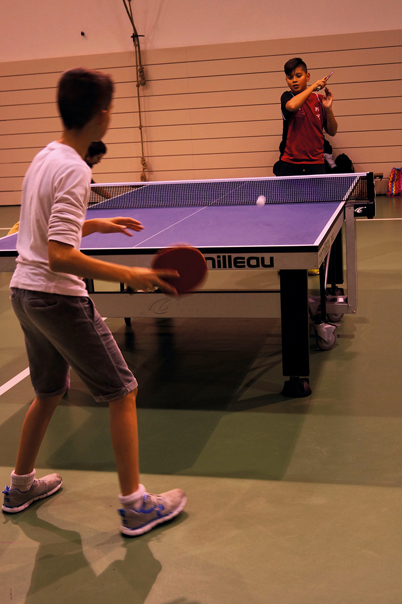Dimanche 3 Juin >> Tournoi de tennis de table Claude Descous