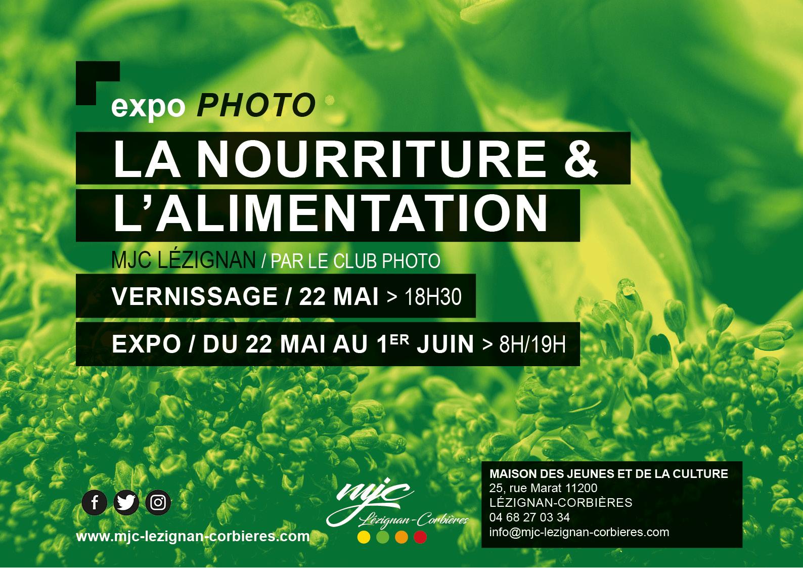 """Du 22 mai au 1er juin >> expo photo """"La nourriture et l'alimentation"""""""