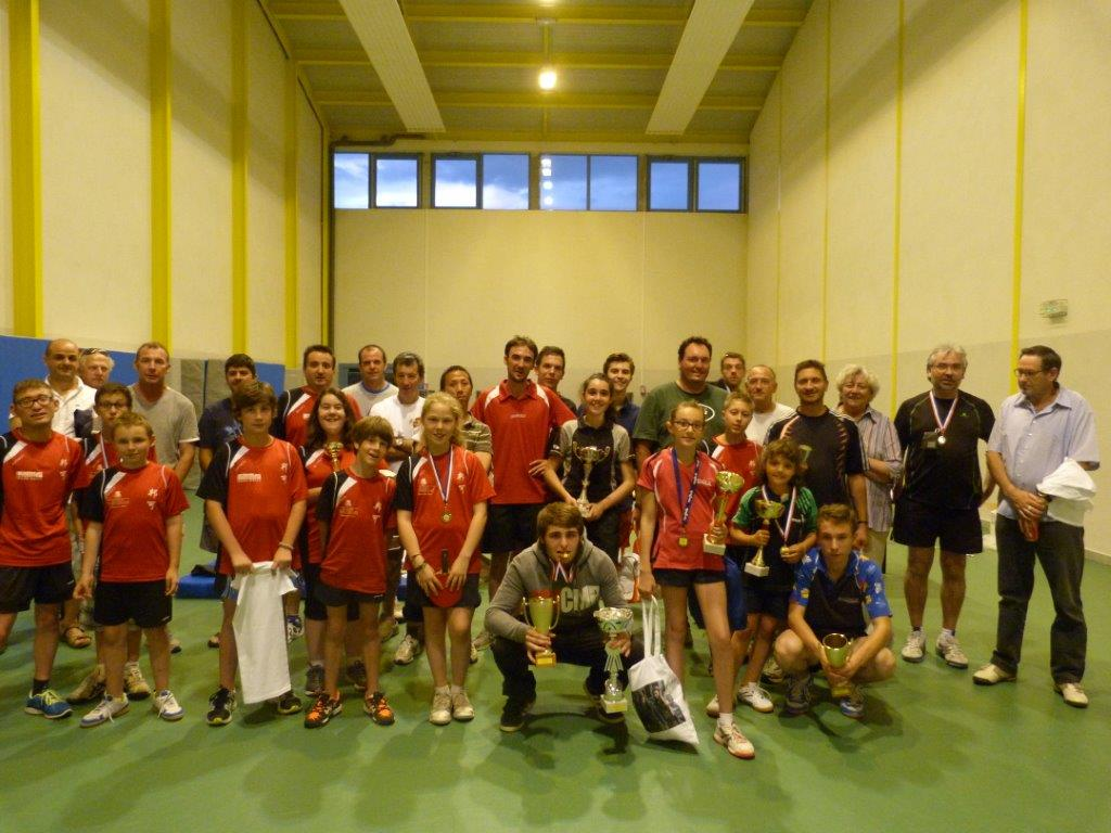 TENNIS DE TABLE >> CLAP DE  FIN DE SAISON POUR LE CLUB TENNIS DE TABLE DE LA MJC
