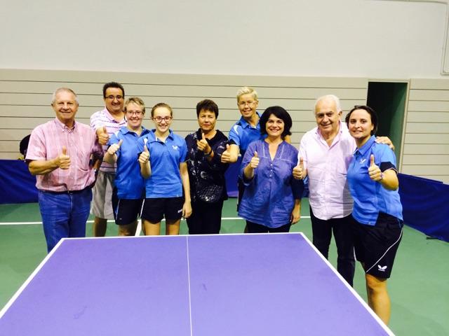 Début en fanfare et week-end Historique pour le tennis de table féminin de la MJC Lézignan avec leur 1ère participation au niveau national