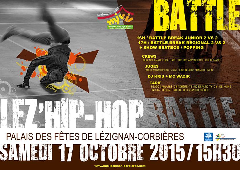 Lez'Hip-Hop Battle >> c'est demain !