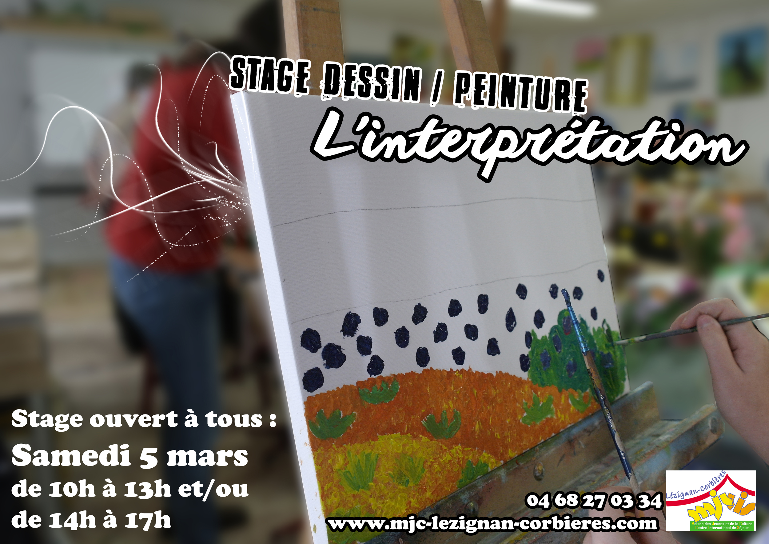 Samedi 2 avril 2016 dessin peinture initiation et conseils l interprétation