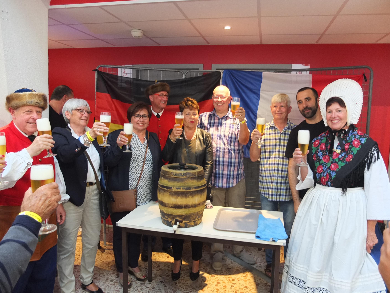 Le Dimanche soir du 19 Juin  était à l'heure allemande pour les 70 ans de la MJC!
