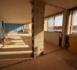 TRAVAUX >> nouvel étage posé, salle de restauration cassée !