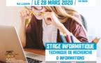 28/03 STAGE INFORMATIQUE : technique de recherche d'informations